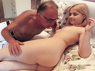 old redhead gets fucked